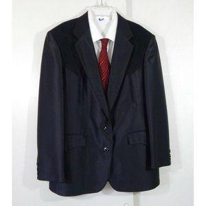CIRCLE S jacket blazer sport coat swedish knit 40S
